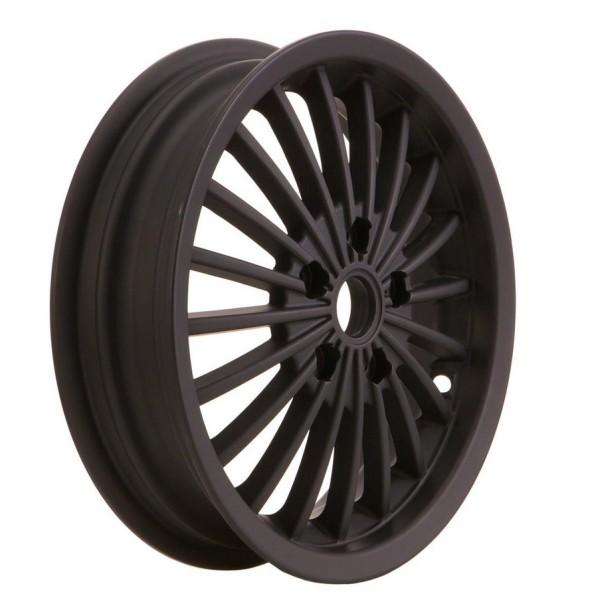 Felge vorne/hinten für Vespa GTS/GTS Super/GTV/GT 60/GT/GT L 125-300ccm, schwarz matt