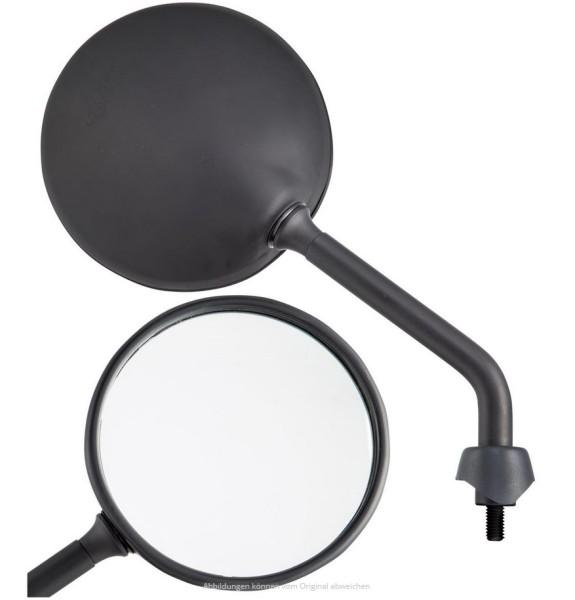 Spiegel Shorty schwarz matt, rechts und links für Vespa GTS / GTS Super HPE 125/300 ('19-)