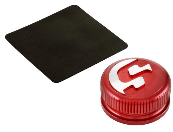 Tankdeckel für Vespa, rot