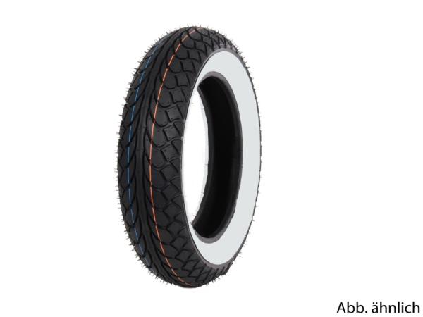 Mitas Reifen 100/80-10, 53L, TL, Weißwandreifen, MC22, vorne