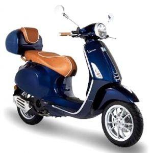 Haltegriff Leder Luxury Line für Vespa Primavera