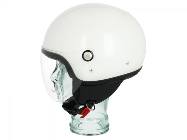 Piaggio P-Style Jethelm weiß 566