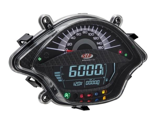 Drehzahlmesser/Tacho für Vespa GTS/GTS Super 300ccm FL ('14-), carbon-look