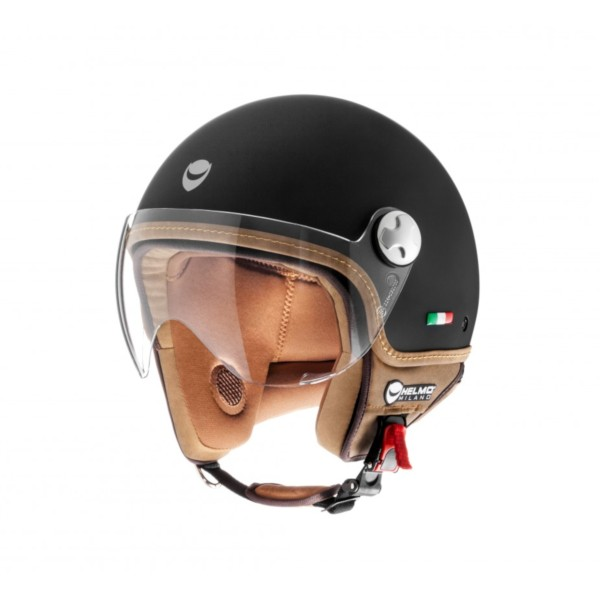 Helmo Milano Demi Jet, VaPensiero, schwarz, matt