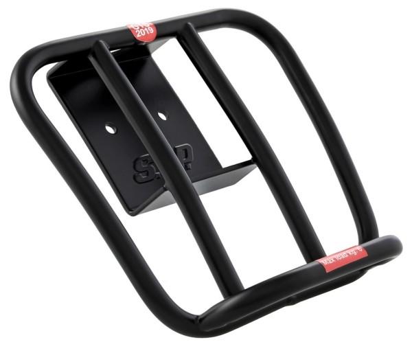 Gepäckträger hinten 70's für Vespa GTS / GTS Super HPE 125-300 ('19-), schwarz matt
