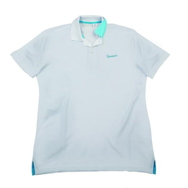 "Vespa Polo Shirt ""Vespa Logo"" Herren weiss"