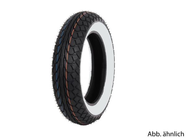 Mitas Reifen 120/70-10, 54L, TL, Weißwandreifen, MC22, hinten