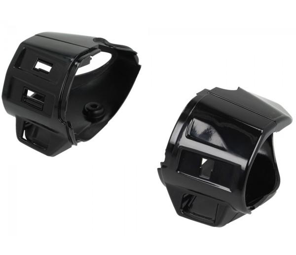 Schaltergehäuse, schwarz glanz für Vespa Primavera / Sprint