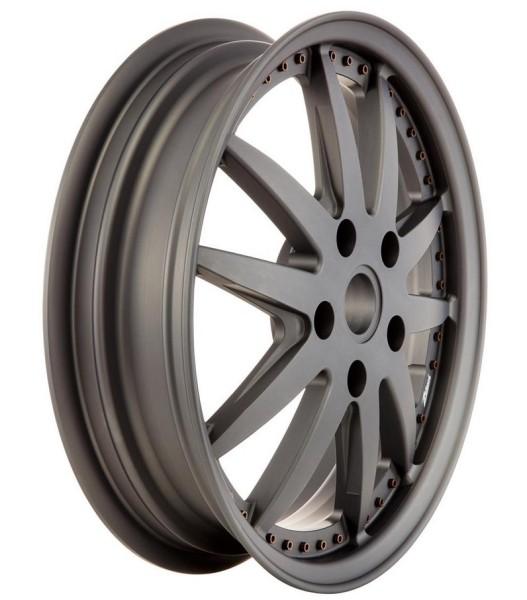 Felge Sport vorne/hinten für Vespa GTS/GTS Super/GTV/GT 60/GT/GT L/946 125-300ccm, grau matt