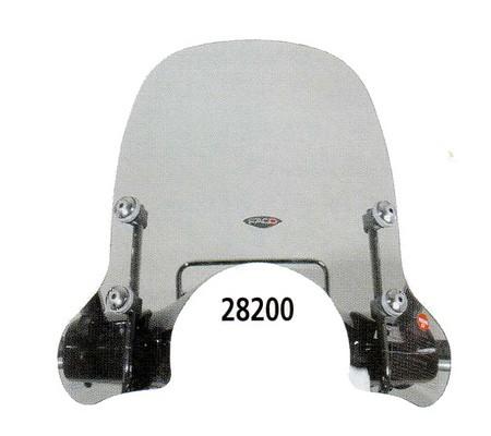 Windschild halbhoch für Vespa GTS/GTS Super/GT/GT L 125-300ccm, getönt