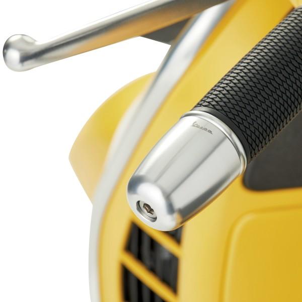 Lenkerkit, Aluminium, eloxiert, Set Handgriffe, Hebel und Lenkerenden für Vespa GTS