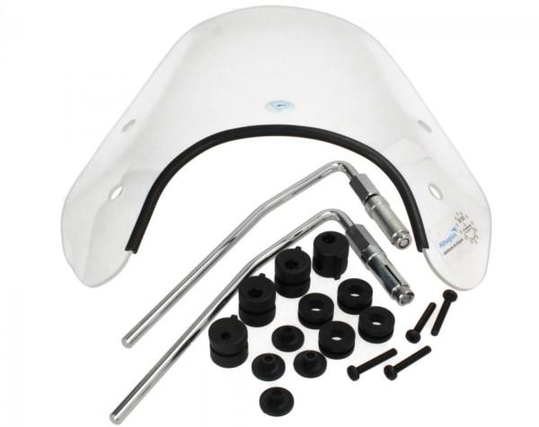 Cuppini Windschutzscheibe für Vespa ET4 komplett, 330x450, TÜV Materialgutachten, Einzelabnahme erfo