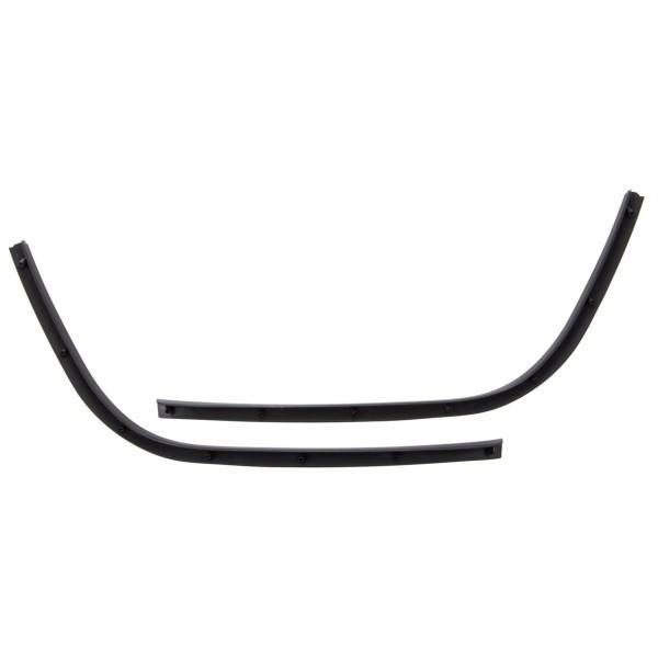 Monoschlitzrohr Trittbertt schwarz glänzend für Vespa Primavera/Sprint 50-150ccm