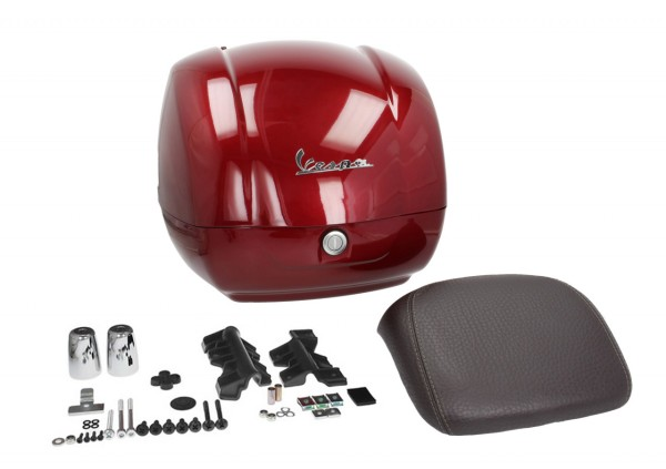 Original Topcase für Vespa GTS - rot / red must / vignola / 880/A