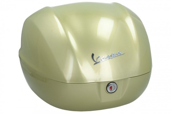 Original Topcase 32 l. für Vespa Primavera / GTS 75 Jahre gelb