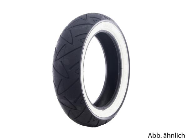 Continental Reifen 120/70-12, 58P, TL, Weißwandreifen, Twist, vorne/hinten