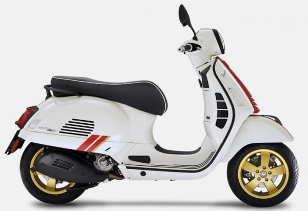 Dekor Satz, Vespa GTS Racing Sixties - Rot