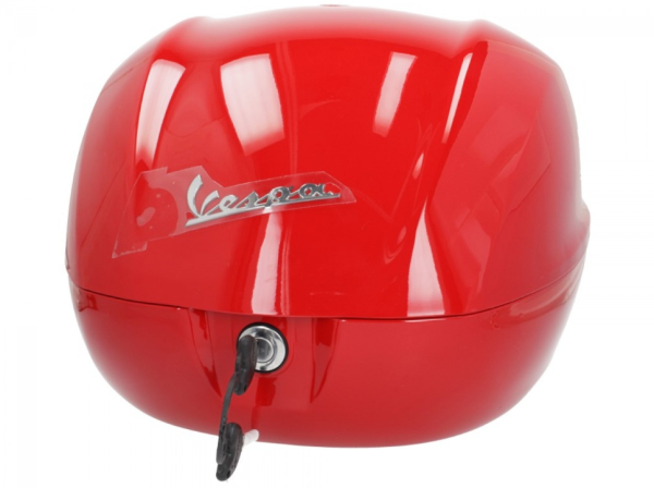 Original Topcase 32 l. für Vespa Primavera / Sprint / GTS - Rot Dragon 894