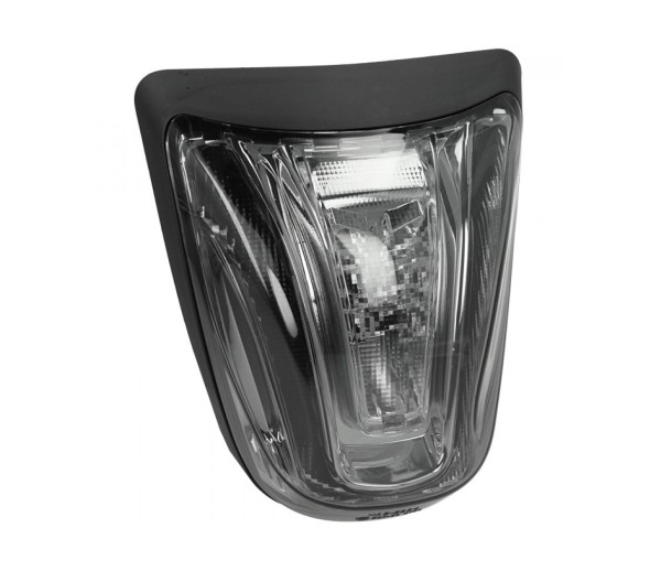 LED Rücklicht schwarz, E-geprüft für Vespa Primavera / Sprint