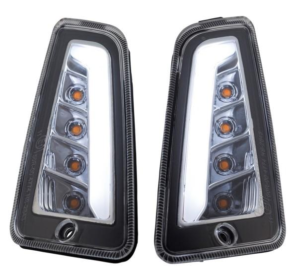Blinker Kit vorne links/rechts für Vespa GTS/GTS Super/GTV 125-300ccm ('14-), klar