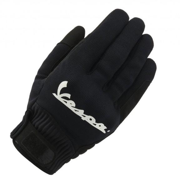 Vespa Handschuhe Color Textil schwarz