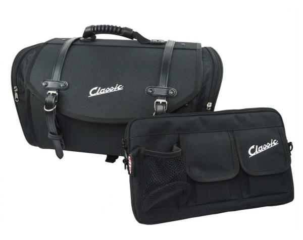 Taschenset Classic für Vespa, schwarz