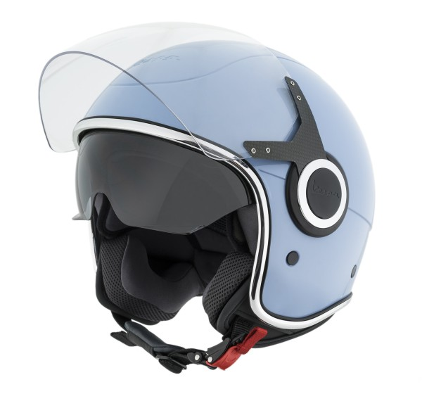 Vespa VJ Helm helblau