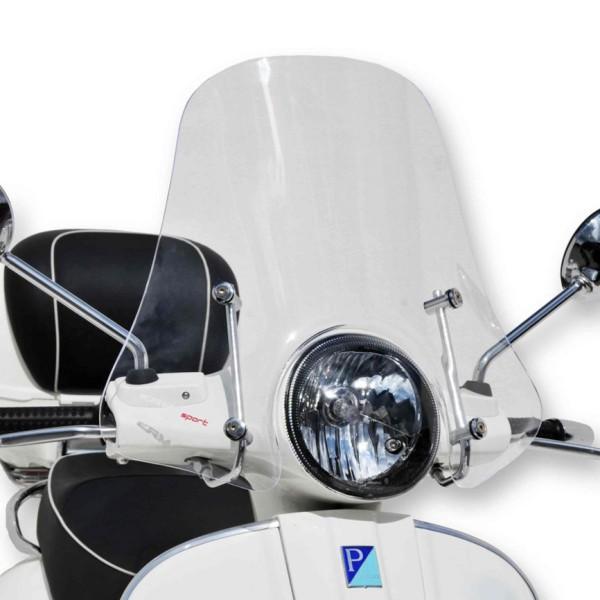 Windschild Sportivo für Vespa GTS/GTS Super/GT/GT L 125-300ccm, halbhoch, klar