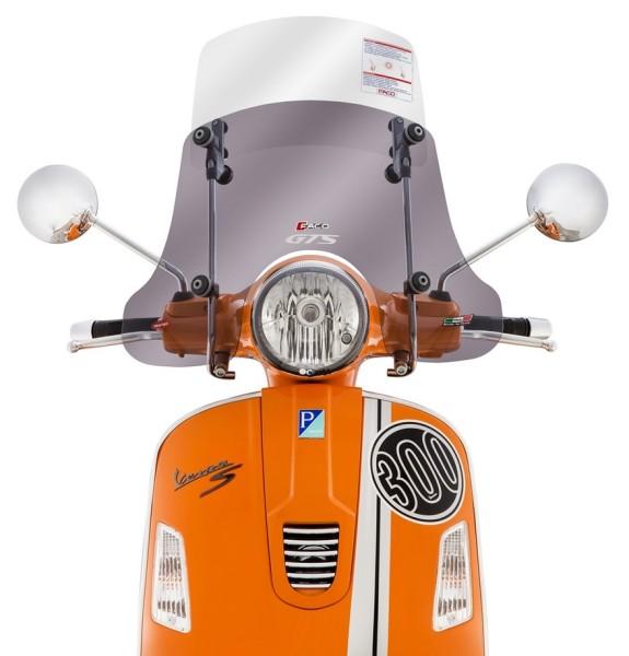 """Windschild """"Twin-Screen"""" für Vespa GTS/GTS Super/GT/GT L 125-300ccm"""