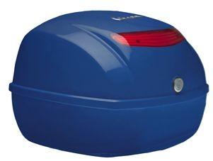 Original Topcase für Vespa LX / S / PX - blau 244/A