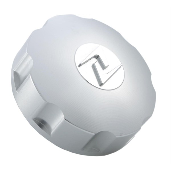 Tankdeckel silber, Zelioni für Vespa ET4/LX/LXV/S/Primavera/Sprint/GTS/GTS Super/GTV/GT