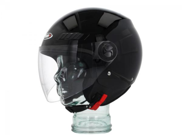 Shiro Jethelm, SH62, GS, schwarz