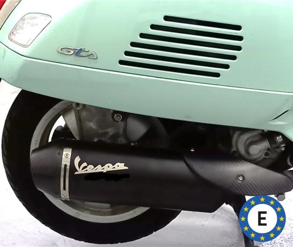 Original Vespa Sportauspuff für Vespa GTS/GTS Super/GTV 300ccm HPE (`20-) Euro 5