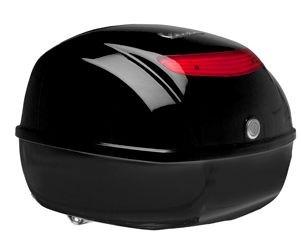 Original Topcase für Vespa S / PX - schwarz glänzend 094