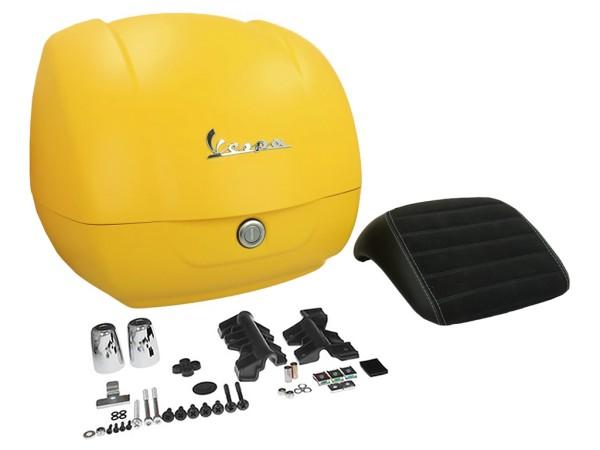 Original Topcase für Vespa GTS - matt yellow / yellow jealousy 974/A