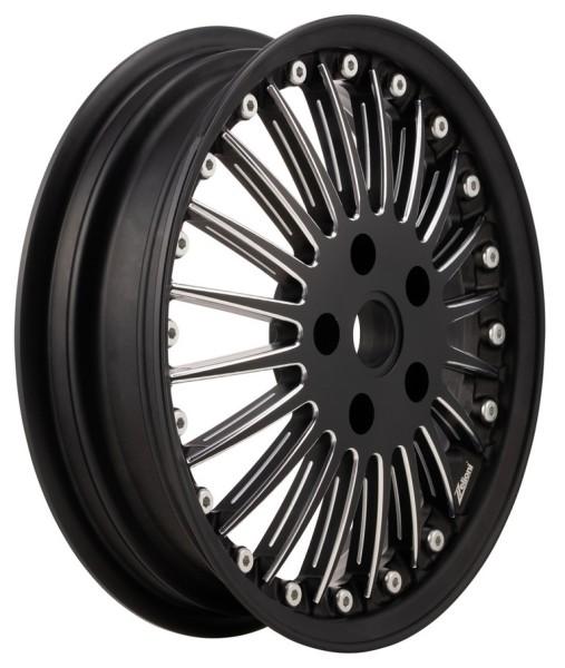 Felge Sport Classic vorne/hinten für Vespa GTS/GTS Super/GTV/GT/946 125-300ccm, schwarz matt