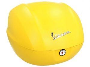 Original Topcase für Vespa Sprint matt yellow / yellow jealousy / 974/A