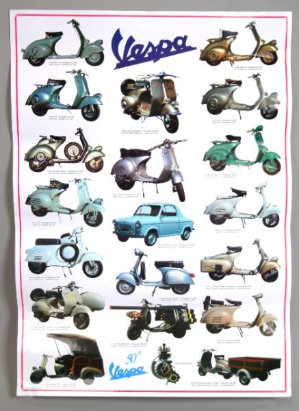 Vespa Poster, Vespa 2. Serie