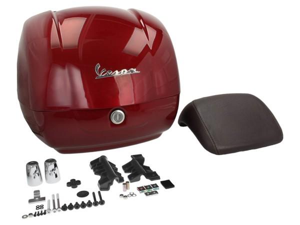 Original Topcase für Vespa GTS - red must / vignola 880/A