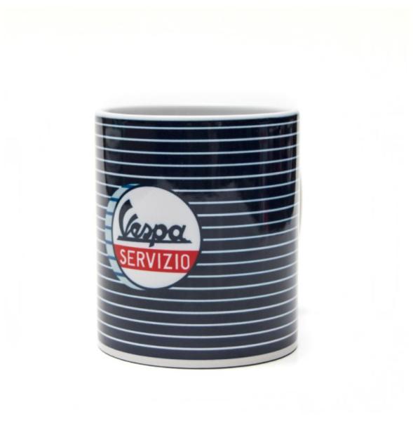 Vespa Tasse Servizio blau weiß