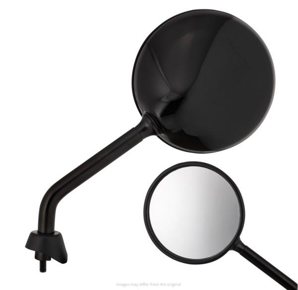Spiegel Shorty, schwarz glänzend, rechts und links für Vespa GTS / GTS Super HPE 125/300 ('19-)
