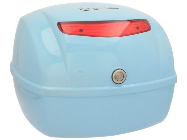 Original Topcase für Vespa LX / S - blau capri 231/A