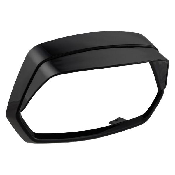 Lampenring schwarz glänzend mit Lampenschirm für Vespa Sprint 50-150ccm ('18-)