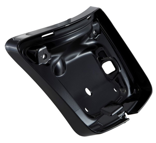 Rahmen Rücklicht für Vespa GTS/GTS Super/GTV 125-300ccm ('14-'18), schwarz glänzend