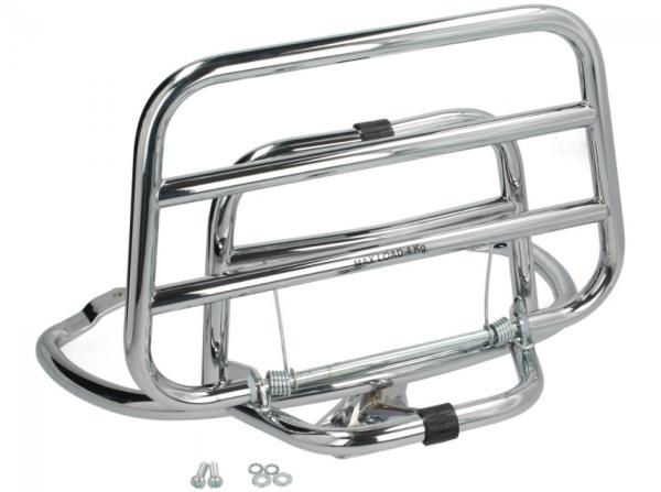 Gepäck-Träger Hinten Klappbar Vespa Primavera / Sprint / Elettrica - Chrome