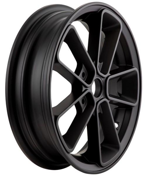 """Felge vorne/hinten 12"""" für Vespa GTS/GTS Super/GTV/GT 60/GT/GT L 125-300ccm, schwarz matt"""