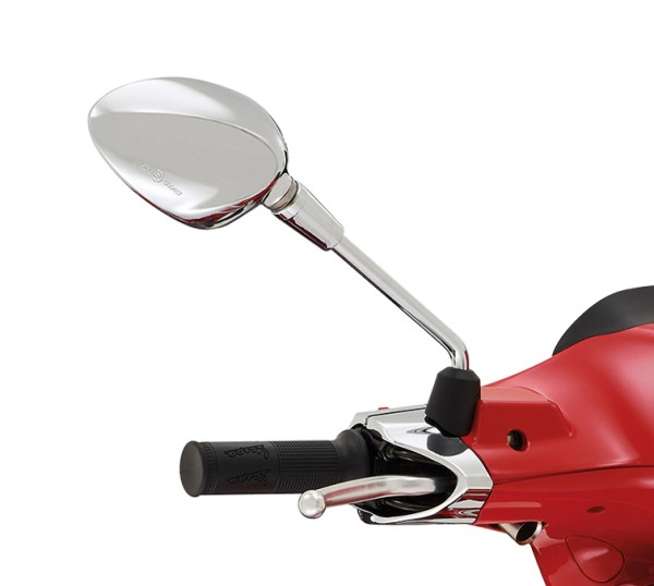 Spiegel rechts Chrom für Vespa Sprint 50-150ccm 2T/4T