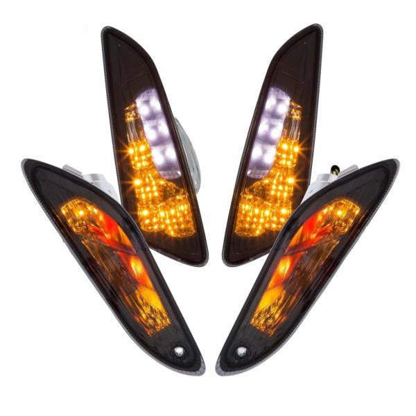 Blinker-Set LED getönt für Vespa Primavera/Sprint 50ccm 2T/4T
