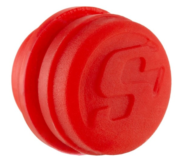 Abdeckkappe für Lenkerendengewichte, rot