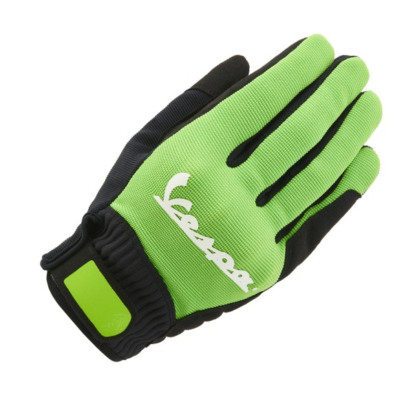 Vespa Handschuhe Color Textil grün